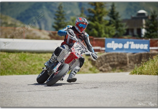 CHAMPIONNAT DE FRANCE SUPERMOTARD A L'ALPES D'HUEZ